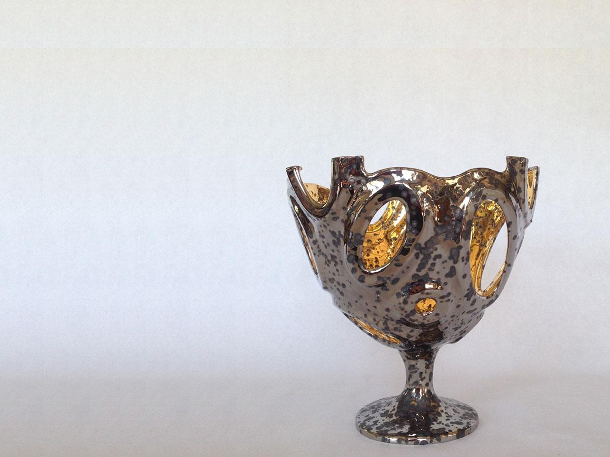 plainum and gold cup