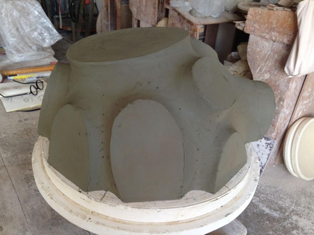 crucible in the making